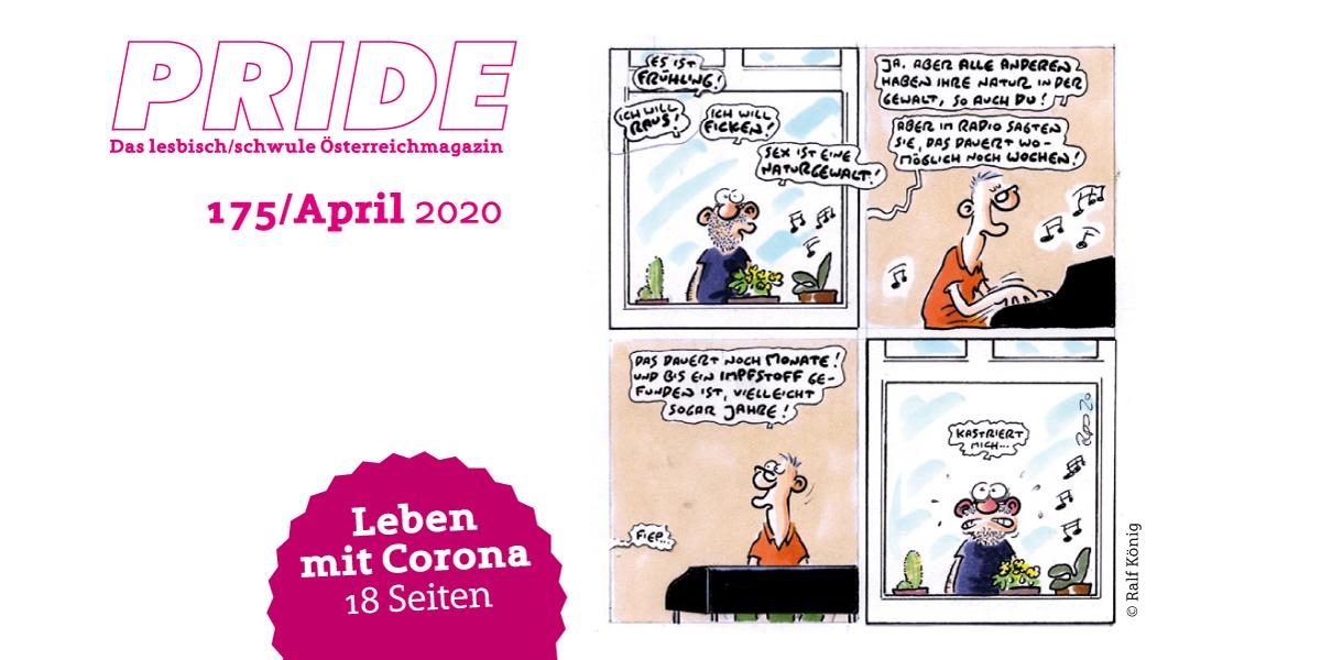 PRIDE Nr. 175 / April 2020